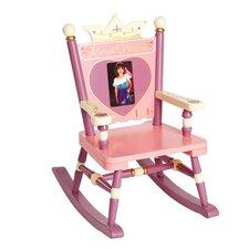 Rock A Buddies, Jr. Princess Mini Kids Rocking Chair