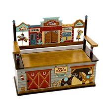 Wild West Kids Bench with Storage Compartment