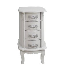 Adoxa 4 Drawer Bedside Table