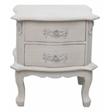 Adoxa 2 Drawer Bedside Table