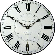 49.6cm Large Clockmaker's Wall Clock