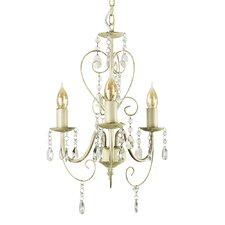 Lille 3 Light Crystal Chandelier
