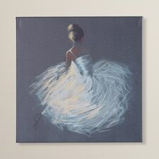 Tutu Art Print Wrapped on Canvas