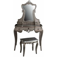 Lostwithiel Dressing Table with Mirror