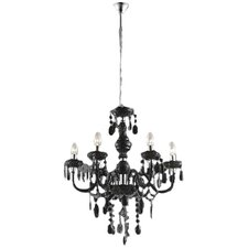 Newman 6 Light Candle-Style Chandelier