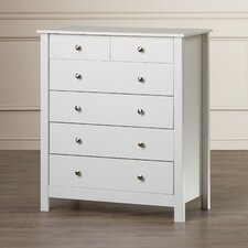 King's Lynn 6 Drawer Chest of Drawers