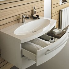 91cm Wall Mounted Vanity Unit