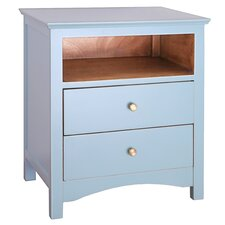 Giselle 2 Drawer Nightstand
