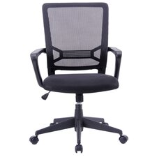 Angelina Adjustable Office Chair with Arms
