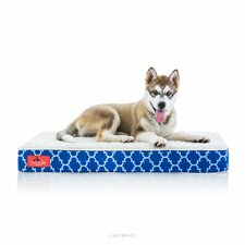 Waterproof Designer Memory Foam Pet Bed