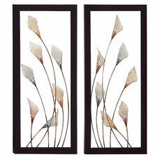 'Bloom' 2 Piece Framed Wall Art Set