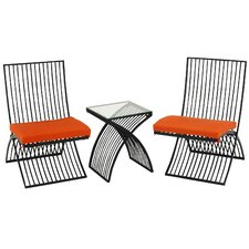 All Weather 3 Piece Bistro Set