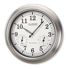 """18"""" La Crosse Technology™ Atomic Backyard Wall Clock"""