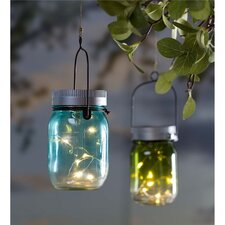 Mason Jar Solar Light (Set of 2)