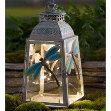 Metal 1 Light Dragonfly Lantern