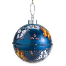 Lighted Metal Ornament Wall Decor