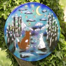 Fox and Rabbit Lighted Metal Wall Décor