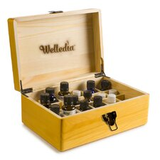 Aroma Storage Essential Oil Wooden Box