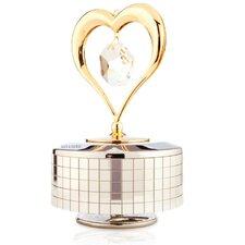 Heart Music Box Figurine