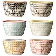 Ceramic Bowl (Set of 6)