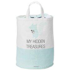 """My Hidden Treasures"" Cotton Storage Bag"