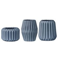 3 Piece Ceramic Votive Set