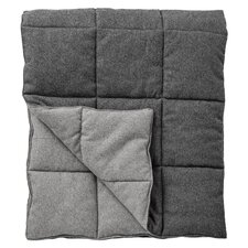 Quilted Recycled Wool Throw