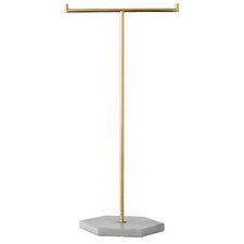 "16"" Metal Jewelry Stand"