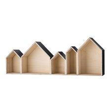 House Shaped Wood Display Box