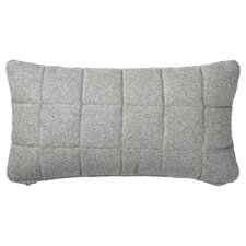 Quilted Recycled Wool Throw Pillow