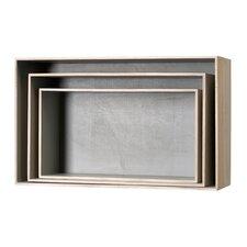 3 Piece Wood Display Box Set