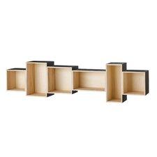 "Wood 12.5"" Accent Shelves Bookcase"