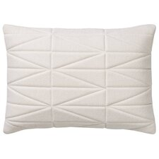 Quilted Felt Throw Pillow