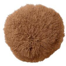Tibetan Lamb Fur Throw Pillow