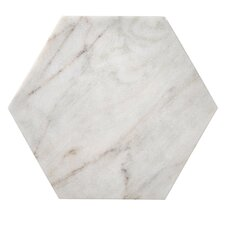 Hexagon Marble Cutting Board