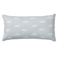 Clouds Cotton Throw Pillow