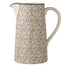 Julie Ceramic Water Pitcher