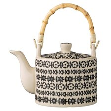 Julie Ceramic Teapot with Flowers