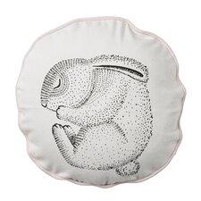 Sleeping Rabbit Cotton Throw Pillow