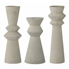 3 Piece Candlestick Set