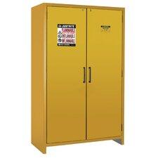 """76.89""""H x 35.16""""W x 24.21""""D  2 Door 90-Minute EN Flammable Safety Cabinet"""