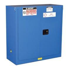 """Sure-Grip® 44""""H x 43""""W x 18""""D  2 Door EX Hazardous Material Steel Safety Cabinet"""