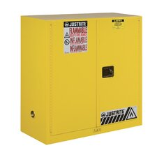 "Sure-Grip® 44""H x 43""W x 18""D  2 Door EX Flammable Safety Cabinet"