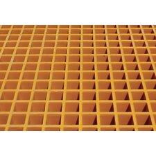 Fiberglass Floor Grating with Sump Liner Locker 105 CuFt