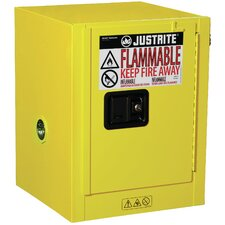 "Sure-Grip® 22""H x 17""W x 17""D EX Countertop Flammable Safety Cabinet"
