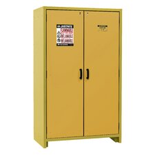 """76.65""""H x 34.02"""" W x 24.41""""D  2 Door 30-Minute EN Flammable Safety Cabinet"""