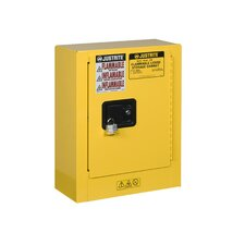 "Sure-Grip® 22""H x 17""W x 8""D  1 Door EX Mini Flammable Safety Cabinet"