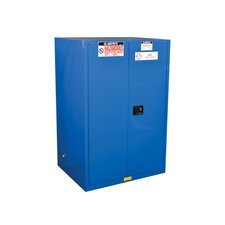 """Sure-Grip® 65""""H x 43""""W x 18""""D  2 Door EX Hazardous Material Steel Safety Cabinet"""