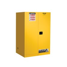 "Sure-Grip® 65""H x 43""W x 34""D EX Flammable Safety Cabinet"