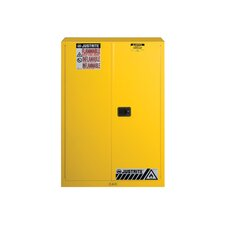 "Sure-Grip® 65""H x 43""W x 18""D EX Flammable Safety Cabinet"